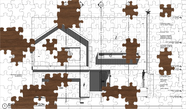 Jigsaw puzzle Incomplete Picture