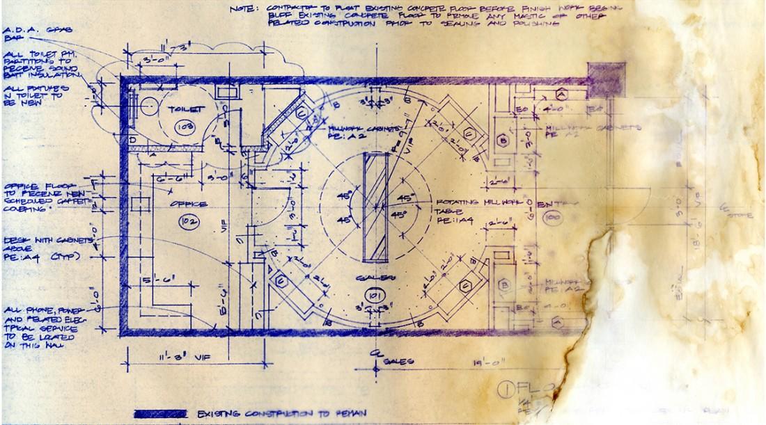 Bob Borson - Occhiali Floor Plan edit