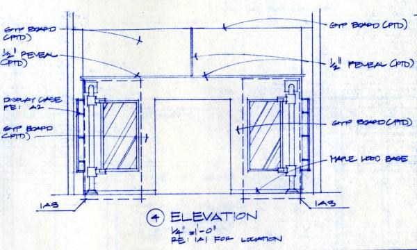 Bob Borson - Occhiali Interior Elevation 4