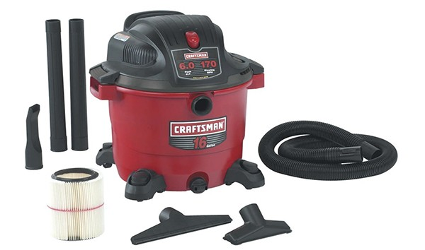 Craftsman 16 Gallon Wet Dry Shop Vacuum