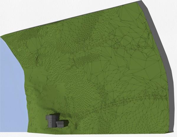 Modern Cabin Site Plan
