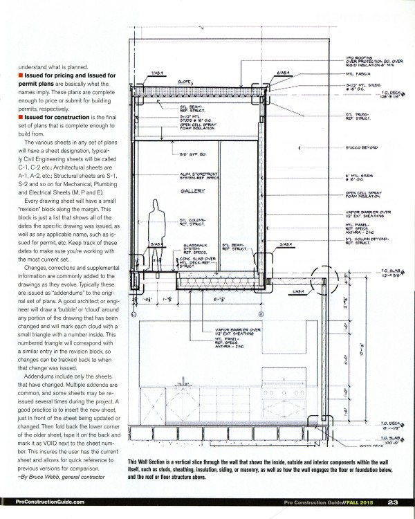 Bob Borson drawing ProConstructionGuide Fall 2015