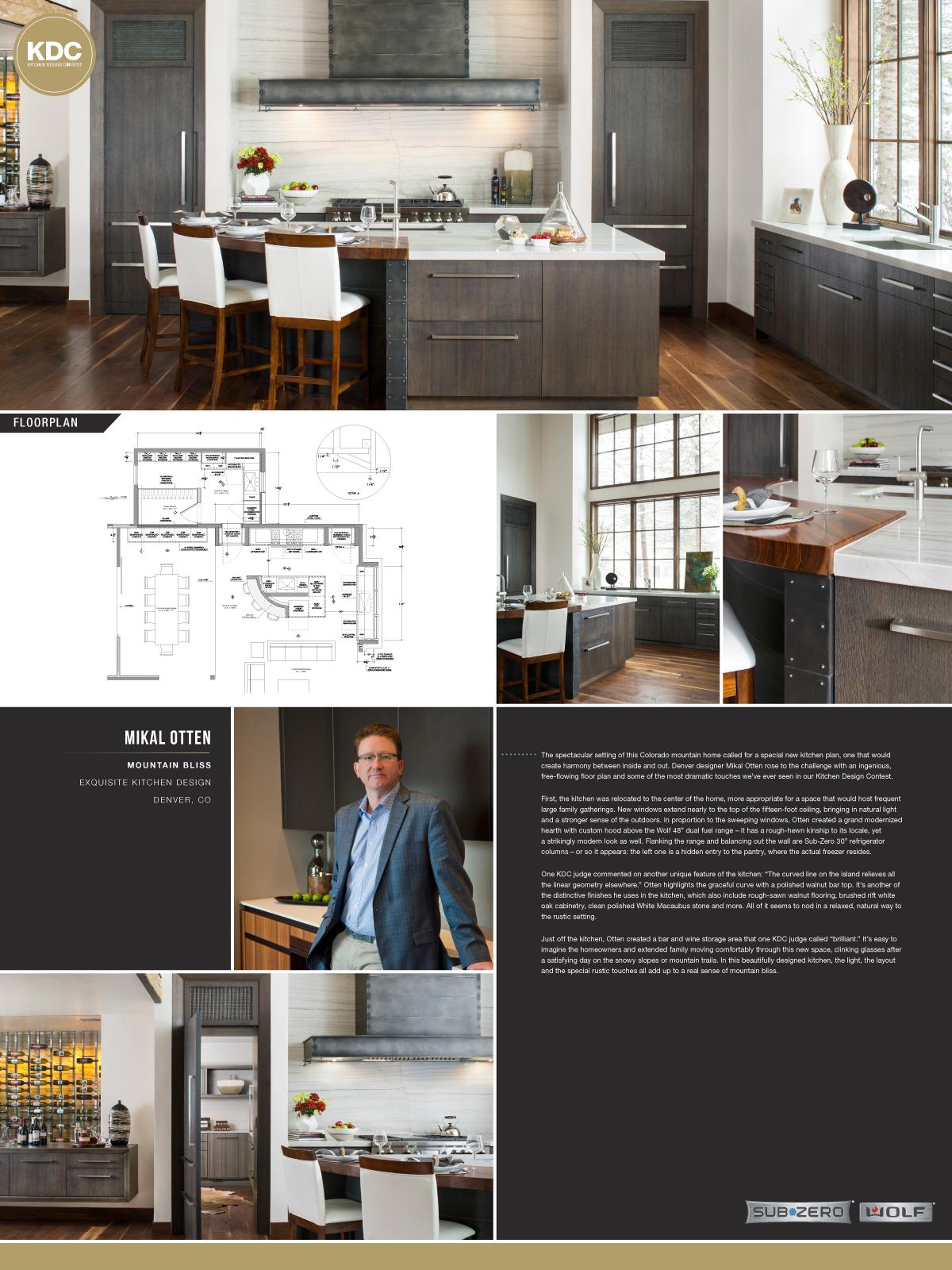 Sub-Zero & Wolf Kitchen Design Contest   Life of an Architect