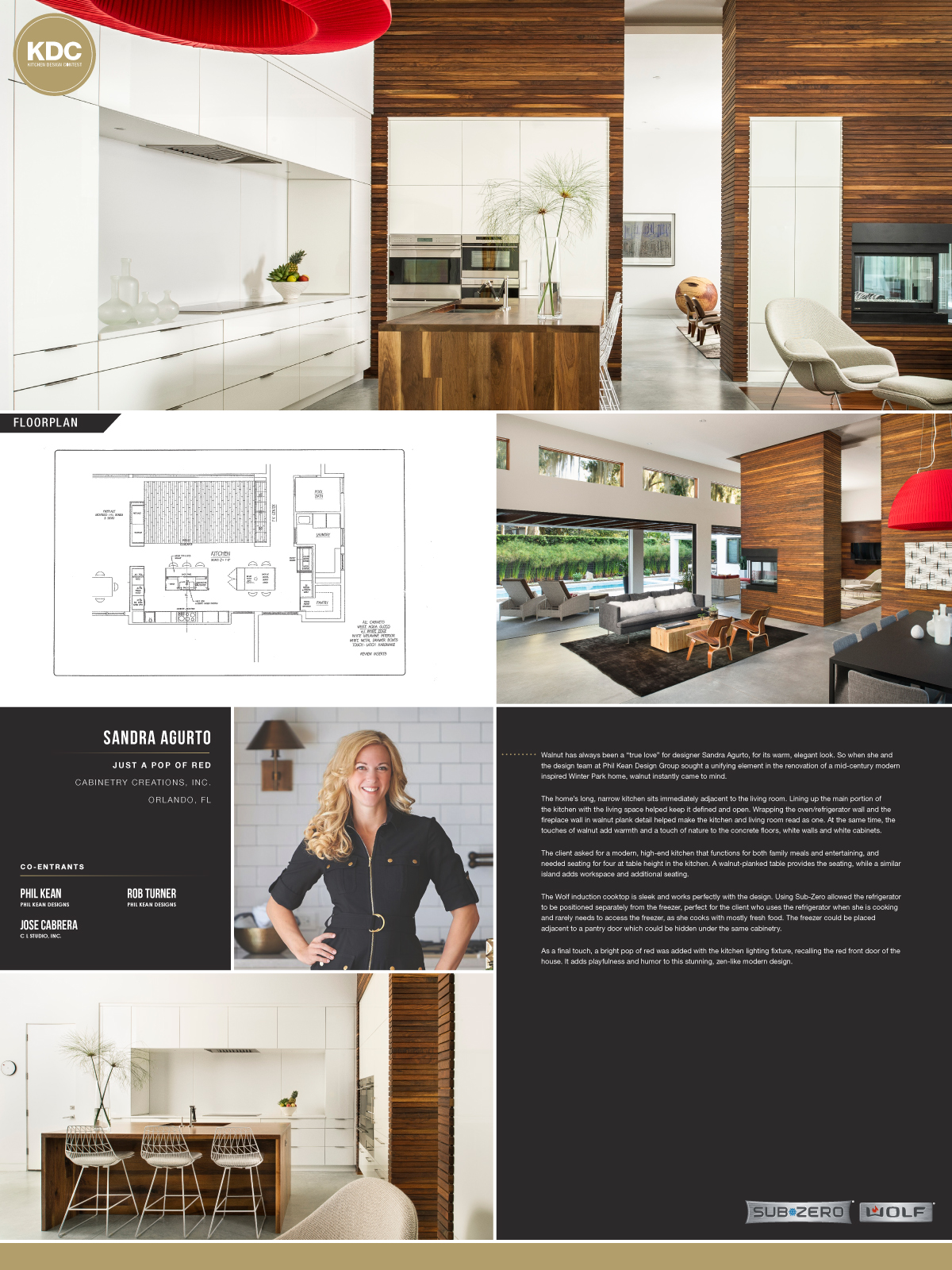 Sub Zero Amp Wolf Kitchen Design Contest Life Of An Architect