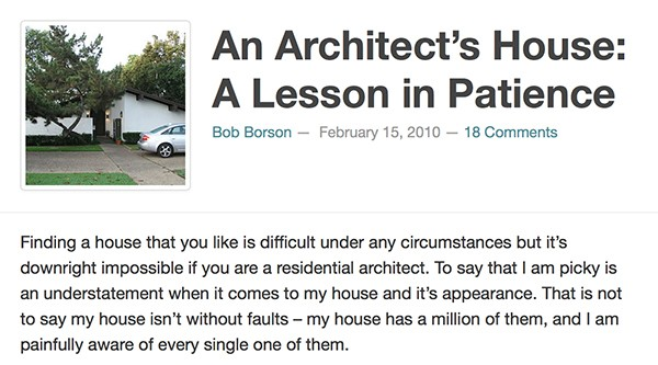 Bob Borson - A Lesson in Patience