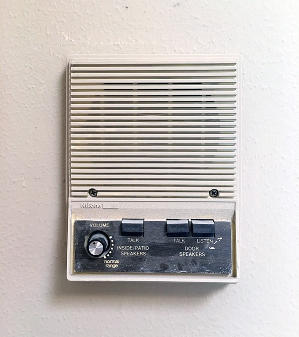 NuTone wall intercom