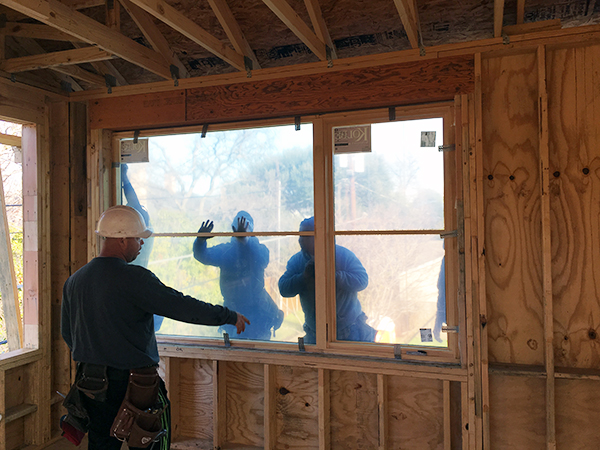 setting windows - view from the interior