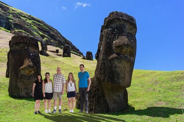 Easter Island Group photo