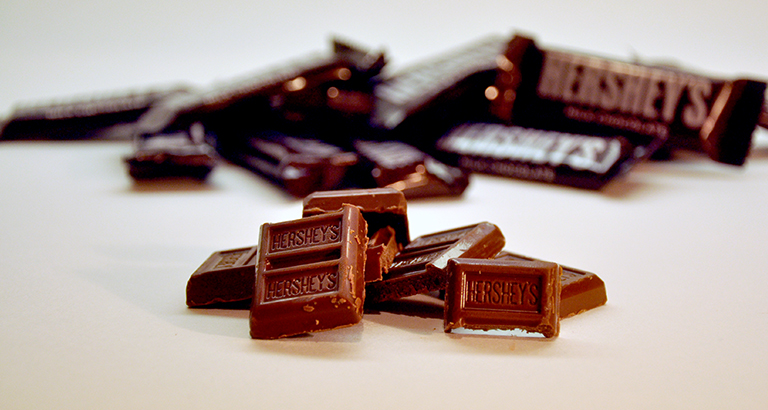 Herseys chocolate - candy for architects