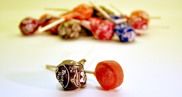 tootsie roll pops - candy for architects
