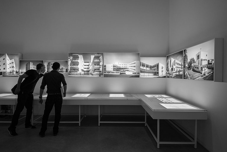 Architecture in Palestine During the British Mandate Exhibition | photo by Or Kaplan