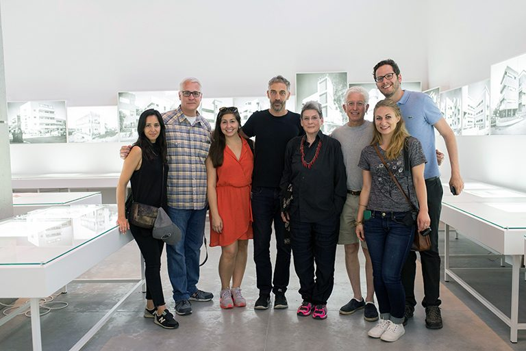 Vibe Architecture Tour at the Israel Museum | photo by Or Kaplan