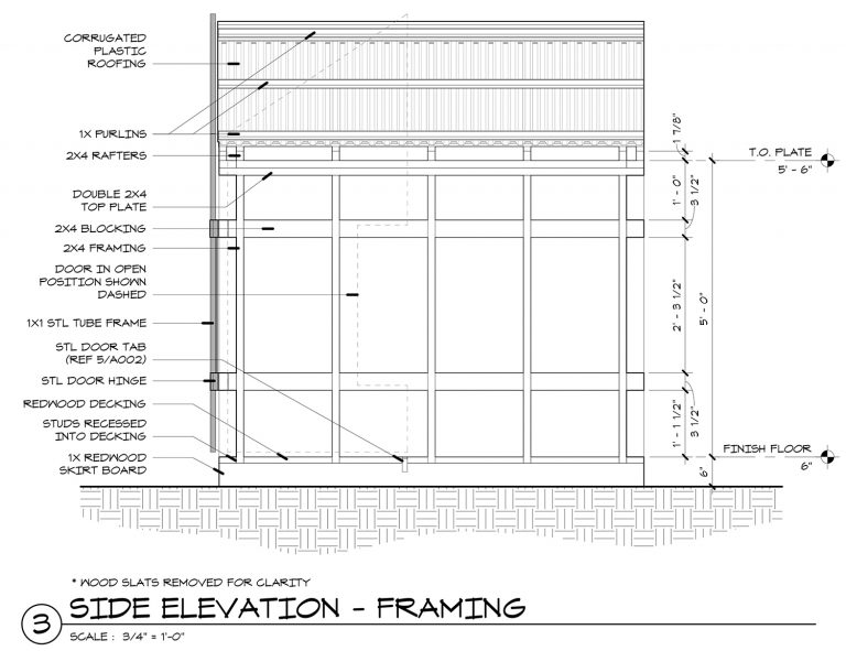 The Grasshopper Playhouse Construction Drawings   Life of an