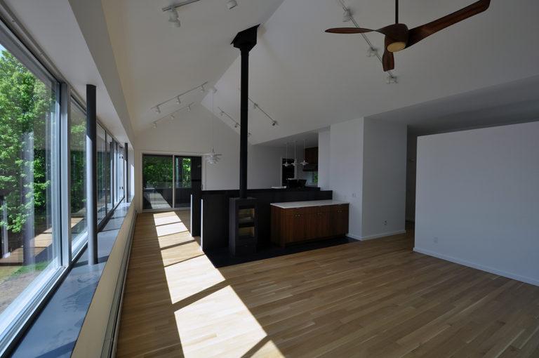 Modern Cabin Living Room