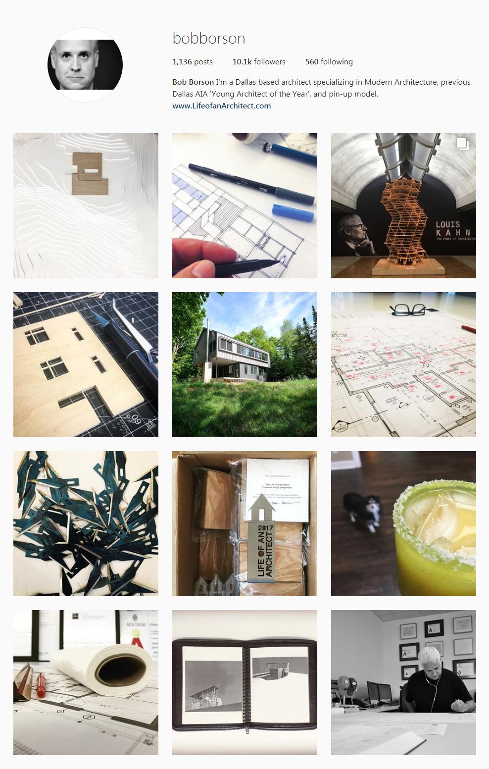 Best Architectural Instagram Feeds of 2017 - Bob Borson