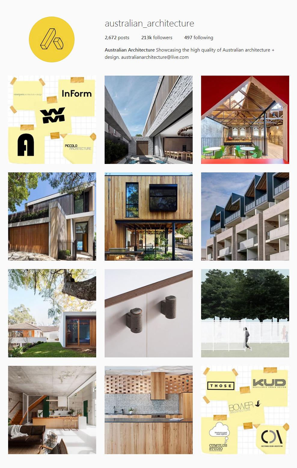 Best Architectural Instagram Feeds of 2017 - australian_architecture