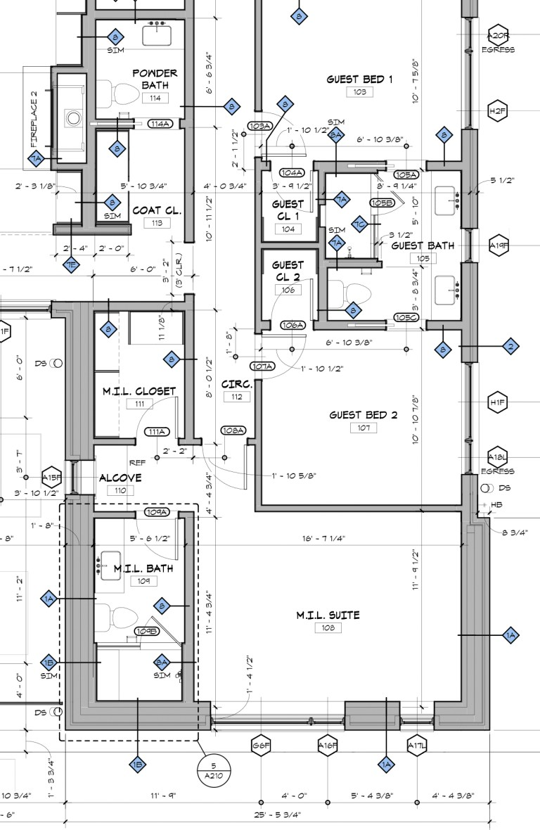 architect floor plans architectural graphics 101 wall types of an architect 10148