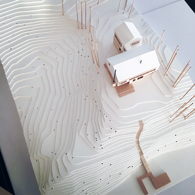 Cabin Model 07 - Malone Maxwell Borson Architects