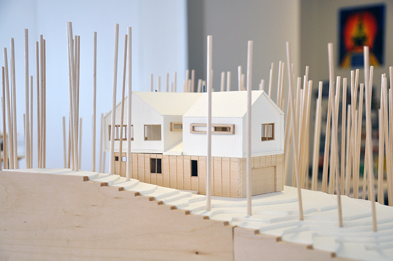 Cabin Model 10 - Malone Maxwell Borson Architects