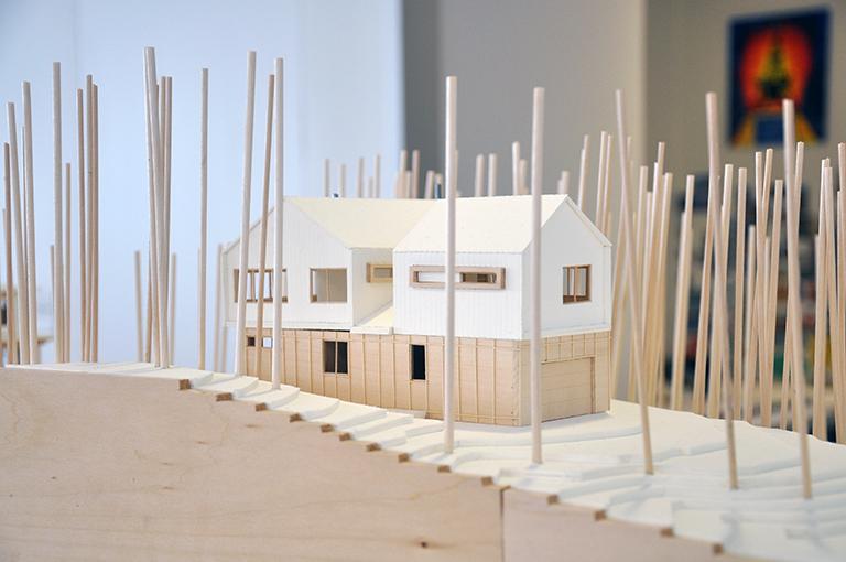 Cabin Model 10 - Malone Maxwell Borson Architects