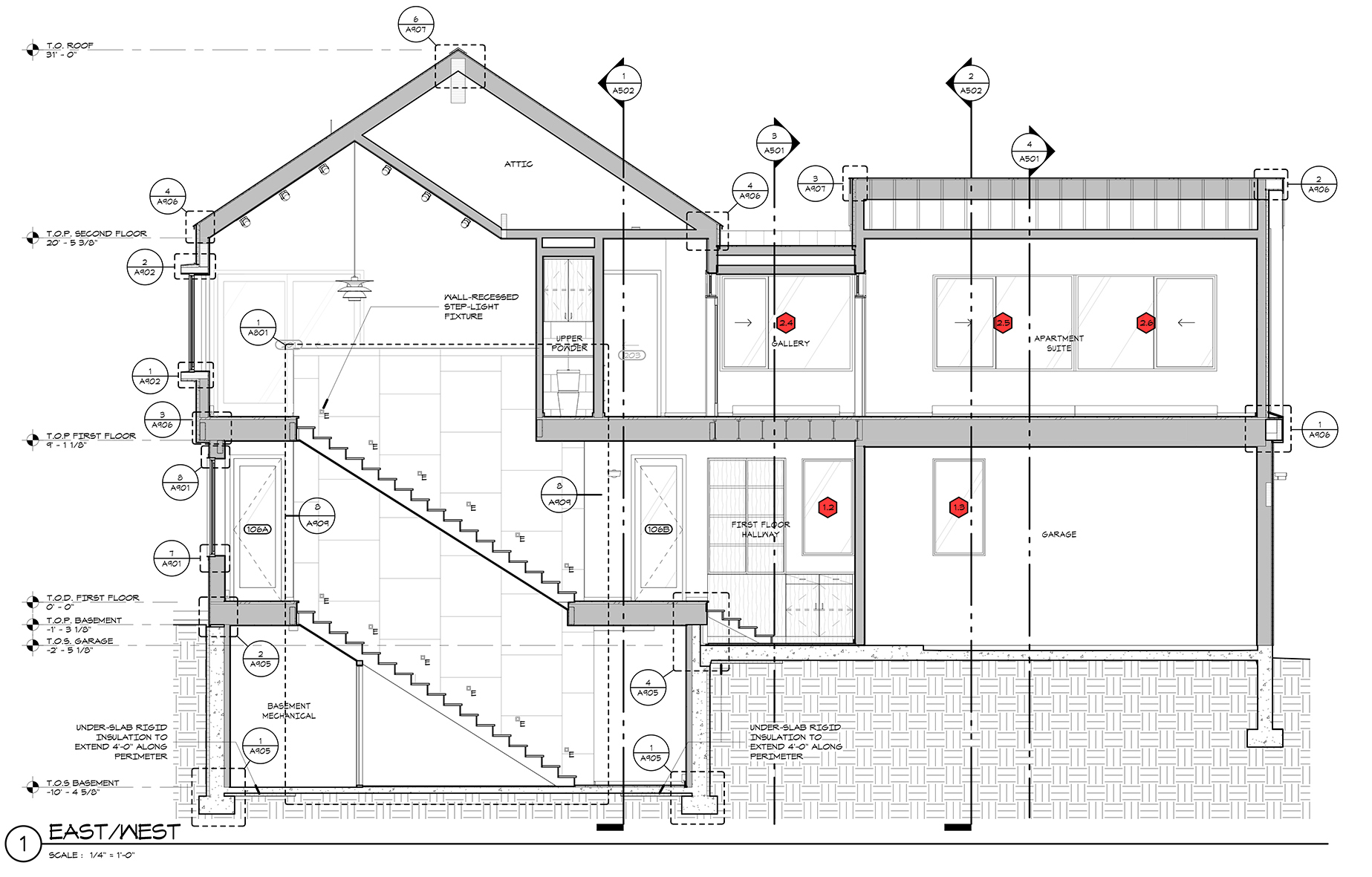 architecture section diagram goldwing trailer wiring architectural graphics 101 window schedules life of an architect tags in by malone maxwell borson architects