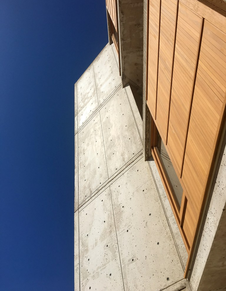 The Salk Institute - Looking Up