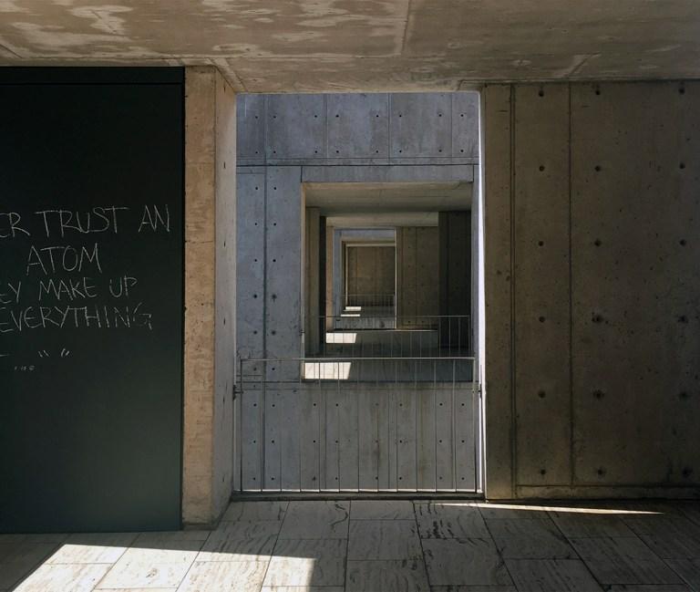 Salk Institute exterior stairwells