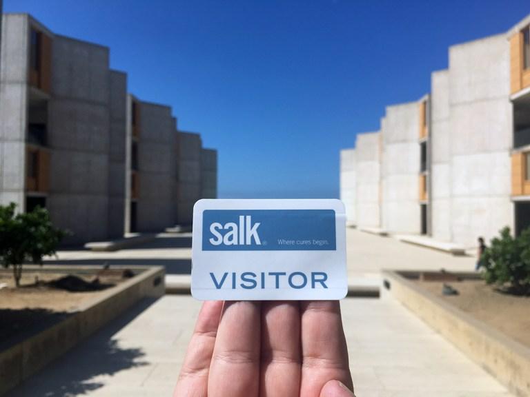 Salk Institute visitor pass