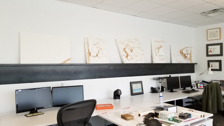 Bob Borson's work desk - my side hustle