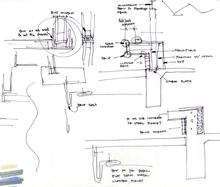 rough architectural sketches. Architectural Rough Sketch With Notes By Bob Borson Sketches