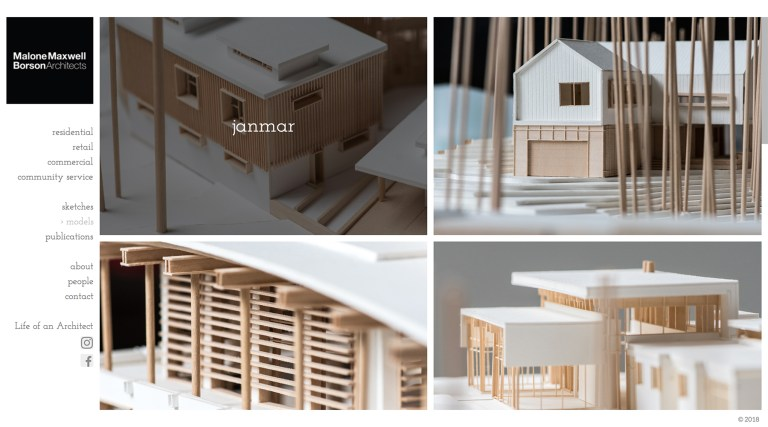 Malone Maxwell Borson Architects Models