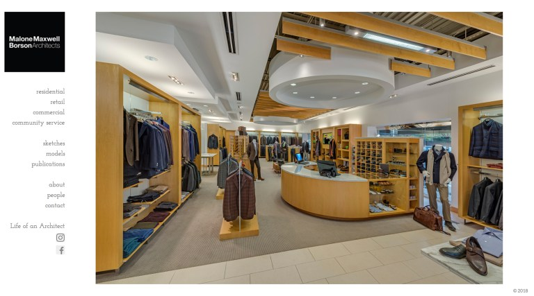 Malone Maxwell Borson Architects Retail