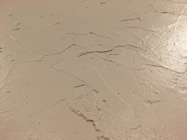 Bad Paint Color with Worse Wall Texture