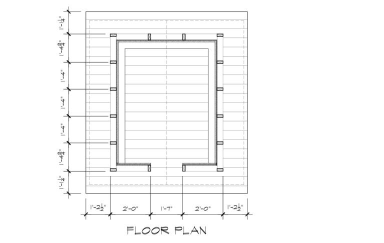 Japanese Playhouse Construction Drawings Floor Plan