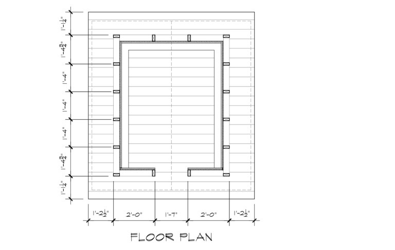 Japanese Playhouse Construction Drawings Floor Plan