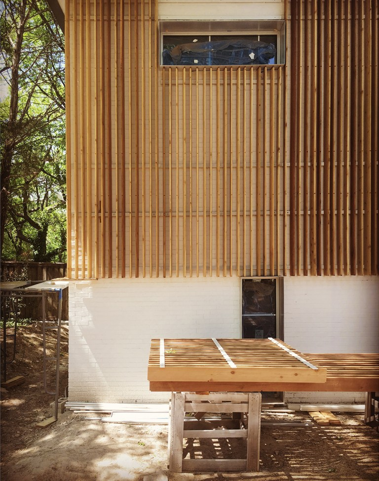 Wood Elevation Xp : Modern wood rainscreen life of an architect