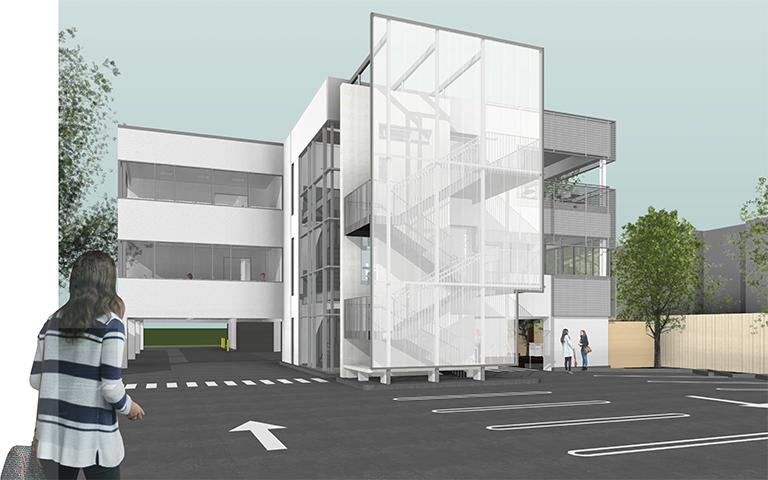 OG Exterior - design development study