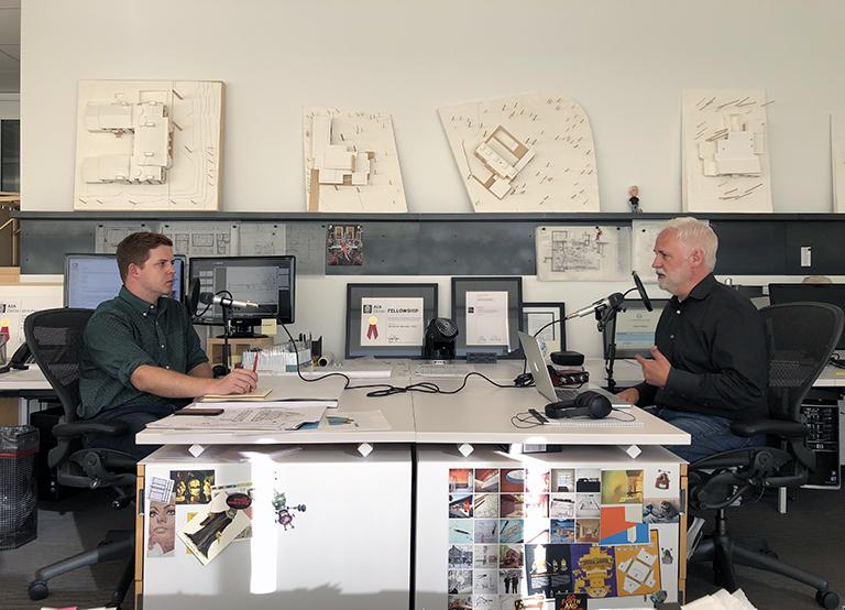Bob Borson and Landon Williams - Life of an Architect Podcast