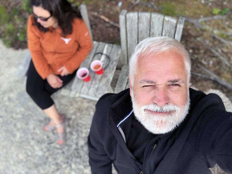 Bob Borson - Maine Selfie