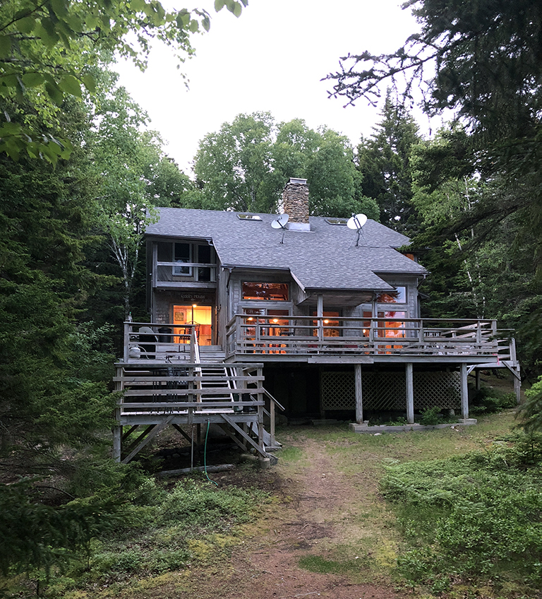 Cabin Rental in Main - Swan's Island - photo by Bob Borson
