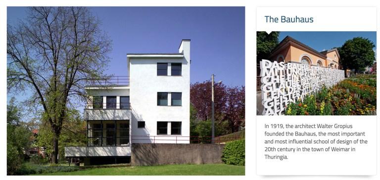 National German Tourist Office - Walter Gropius Auerbach Haus