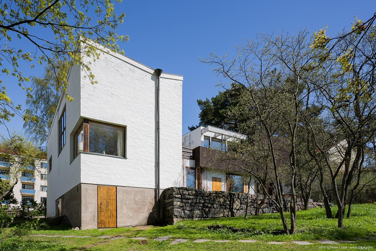 Alvar Aalto House - photo by Pieter Lozie