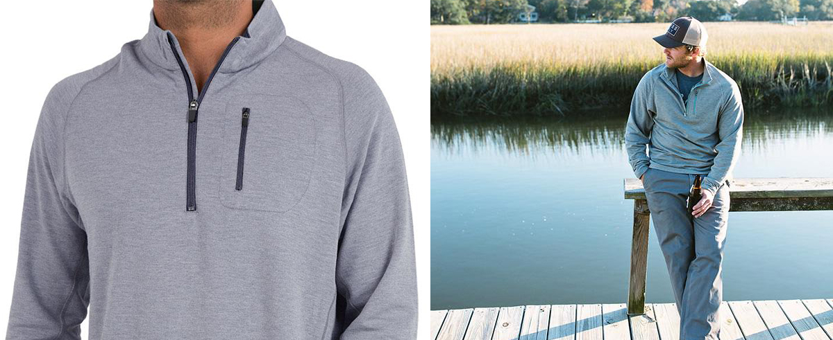 Free Fly Apparel Bamboo Fleece Quarter Zip