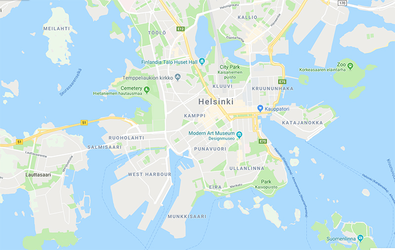 Winter Adventure to Helsinki