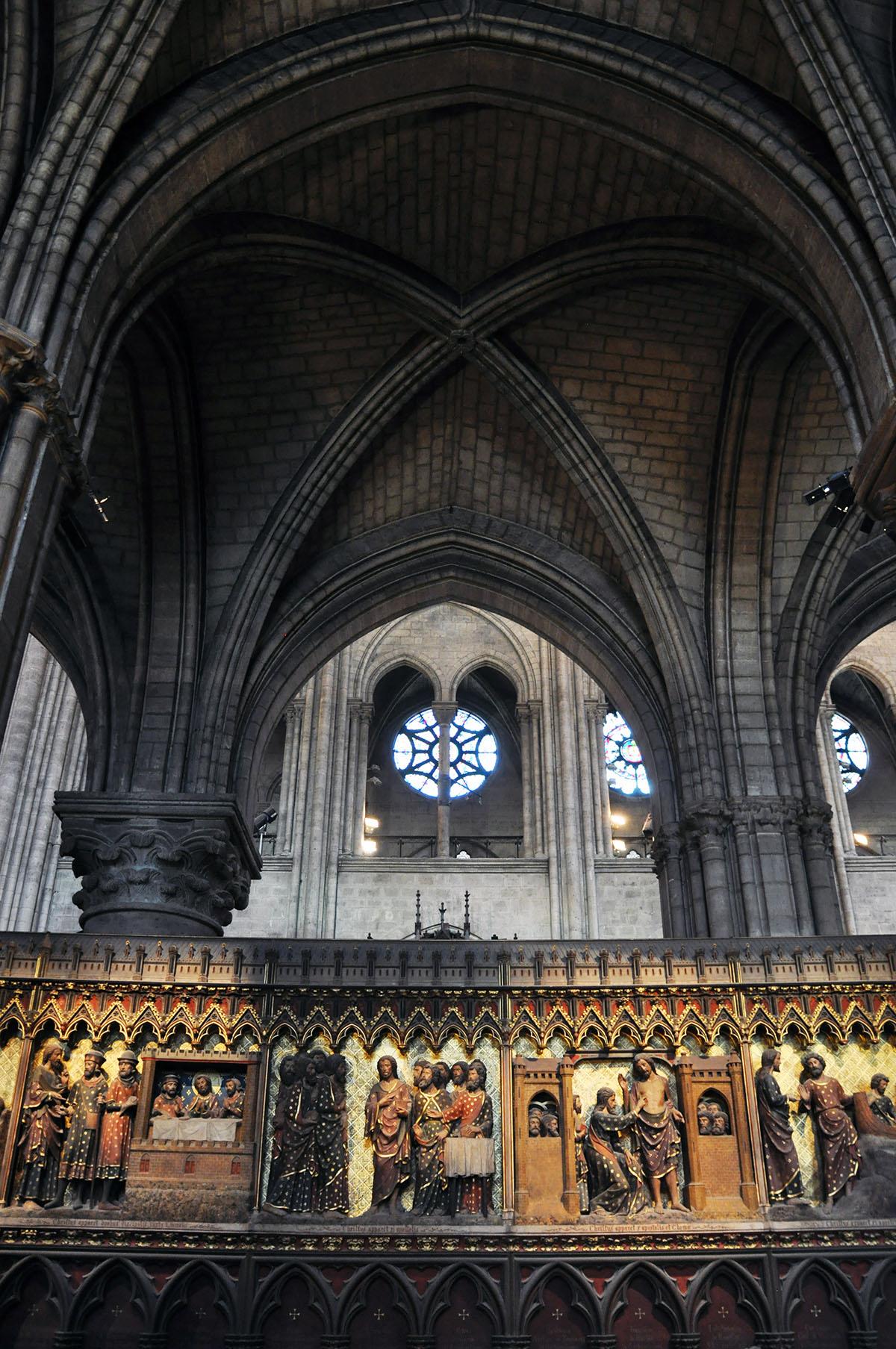 Notre Dame Cathedral Interior 02 June 2010 photo by Bob Borson