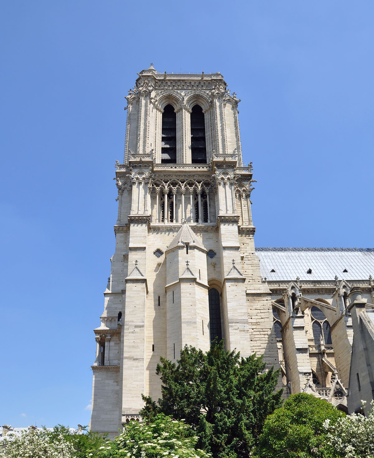Notre Dame Cathedral exterior 05 June 2010 photo by Bob Borson