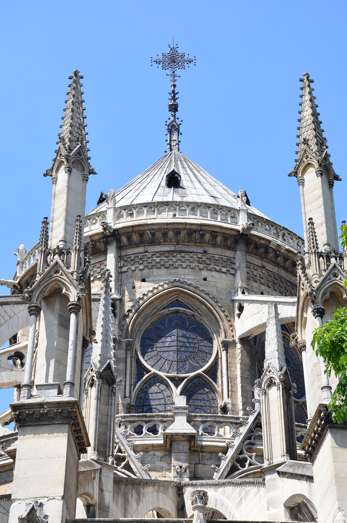 Notre Dame Cathedral exterior 07 June 2010 photo by Bob Borson