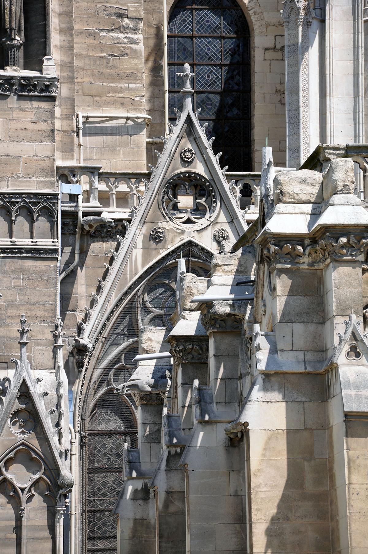 Notre Dame Cathedral exterior 09 June 2010 photo by Bob Borson