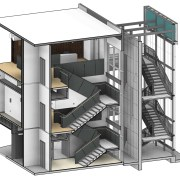 Interior Stairwell Design and Graphics