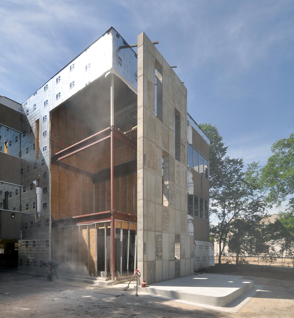 Oak Grove Stair progress